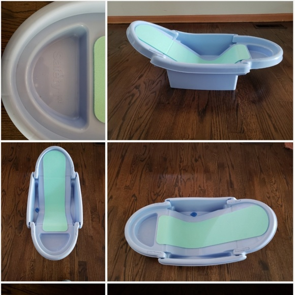 Safety 1st Other | Nifty Baby Blue Fold Away Tub By Safety First ...